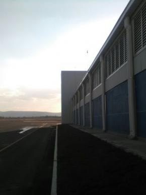 Construcción del colegio del aire